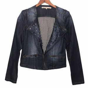Romeo & Juliet Couture Denim Jacket Size Small